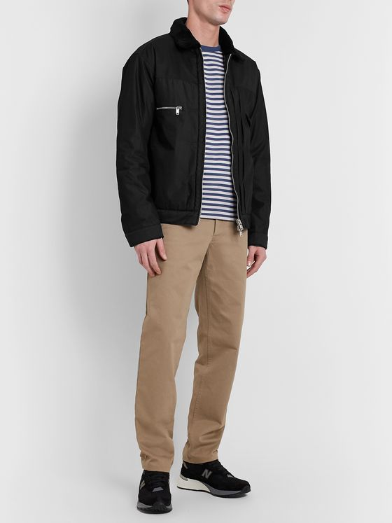 nonnative Faux Shearling-Trimmed GORE-TEX INFINIUM Jacket