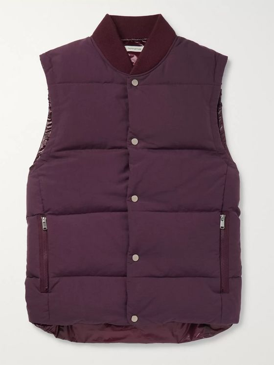 nonnative Quilted Nylon Down Gilet