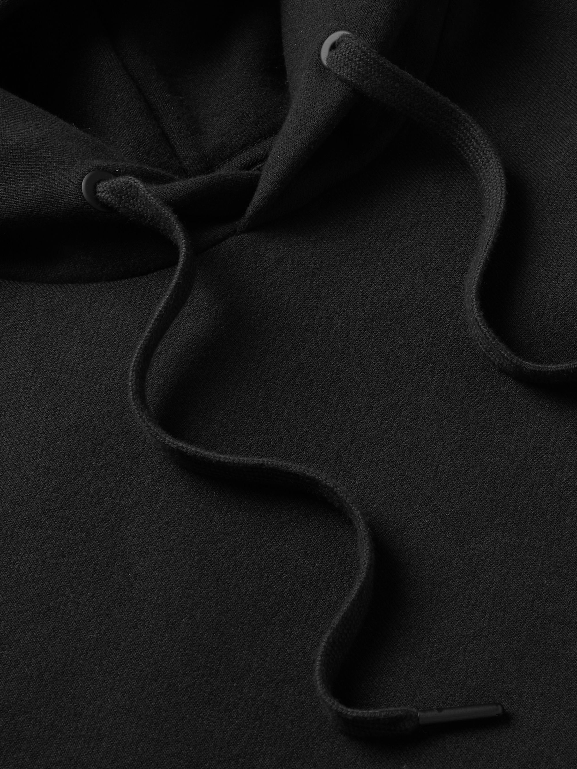 rag & bone Fleece-Back Cotton-Jersey Hoodie