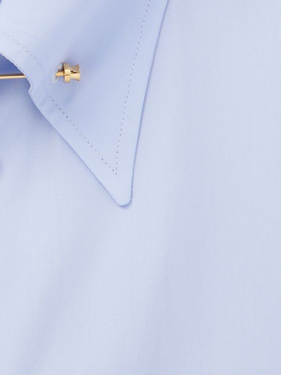 KINGSMAN + Turnbull & Asser Slim-Fit Pinned-Collar Cotton Shirt