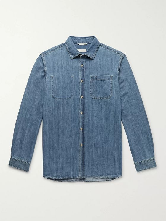 Saturdays NYC Kenmare Denim Shirt
