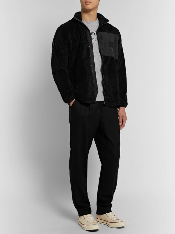 Saturdays NYC Stenstrom Faille-Panelled Fleece Jacket