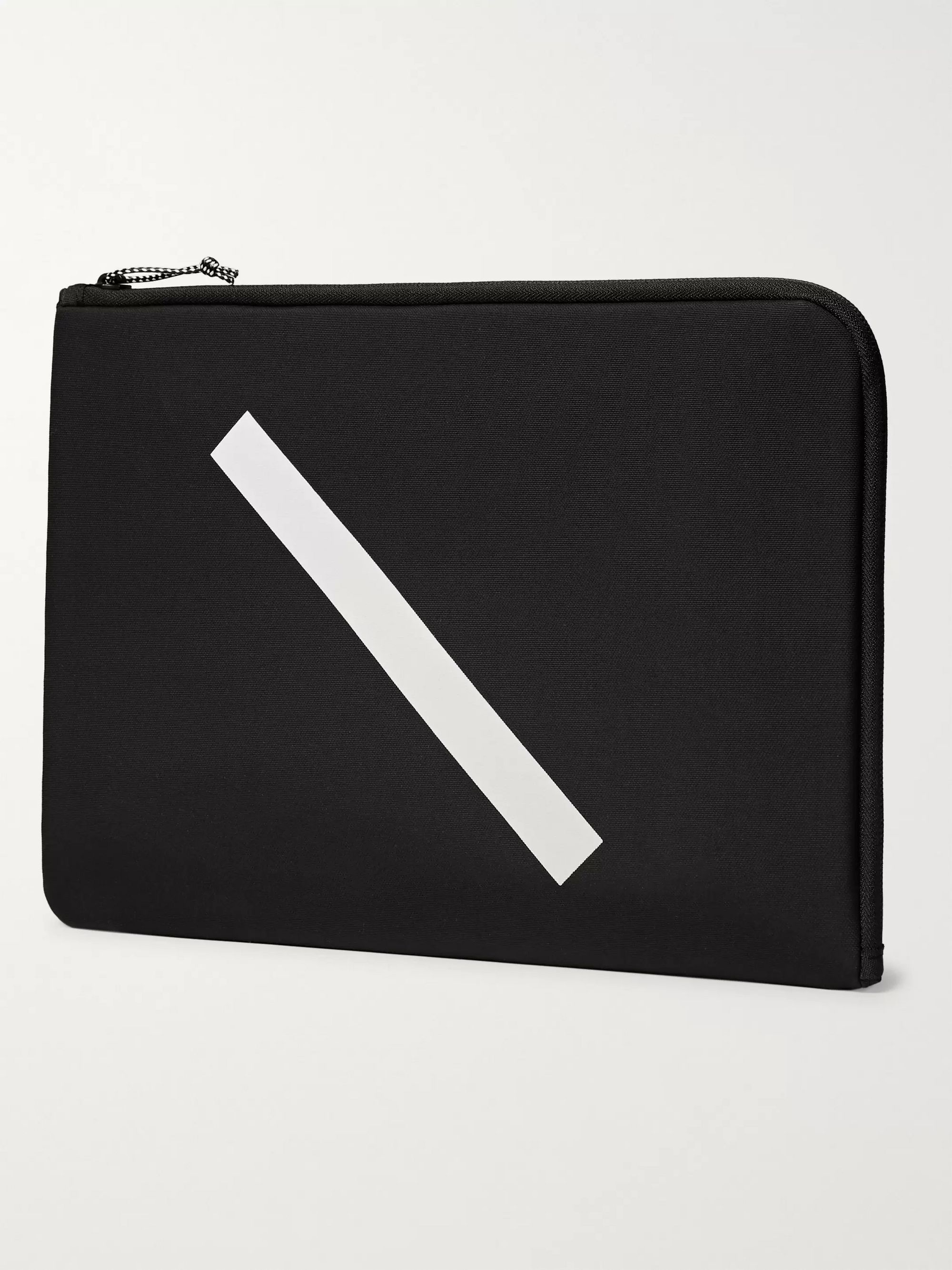 "Saturdays NYC Logo-Print Nylon 13"" Laptop Case"