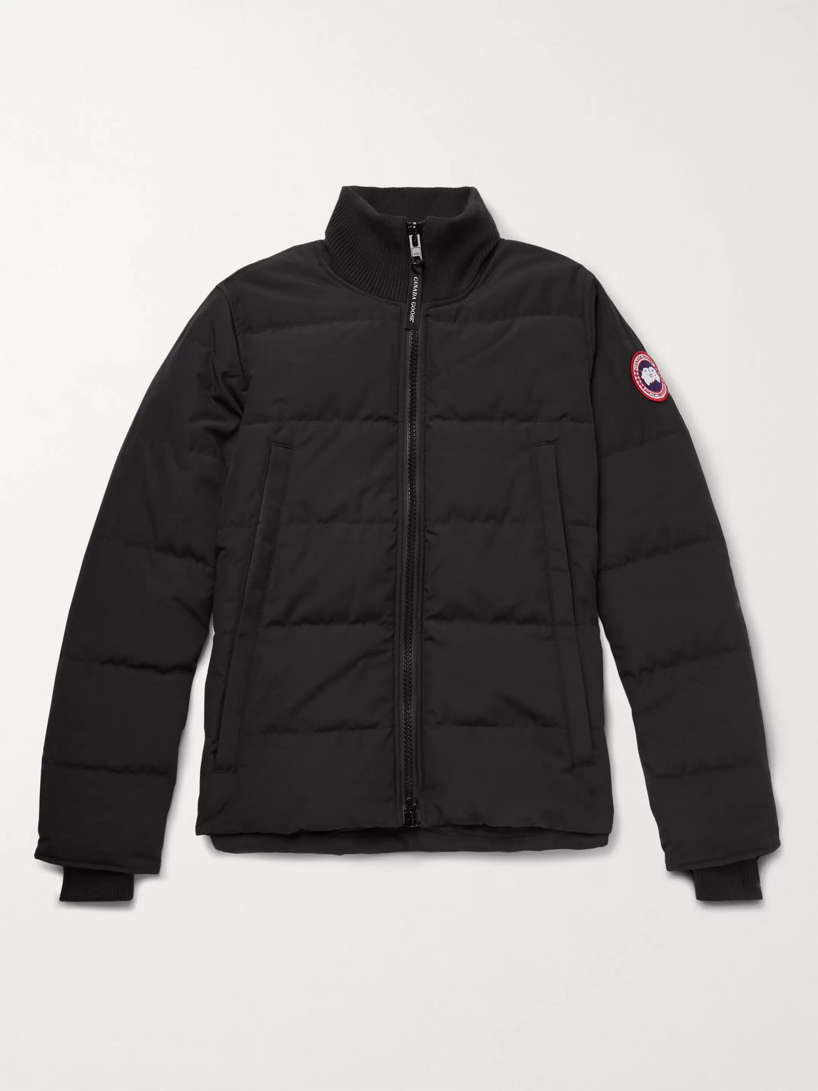 canada goose - woolford slim-fit quilted arctic tech down jacket - men - black