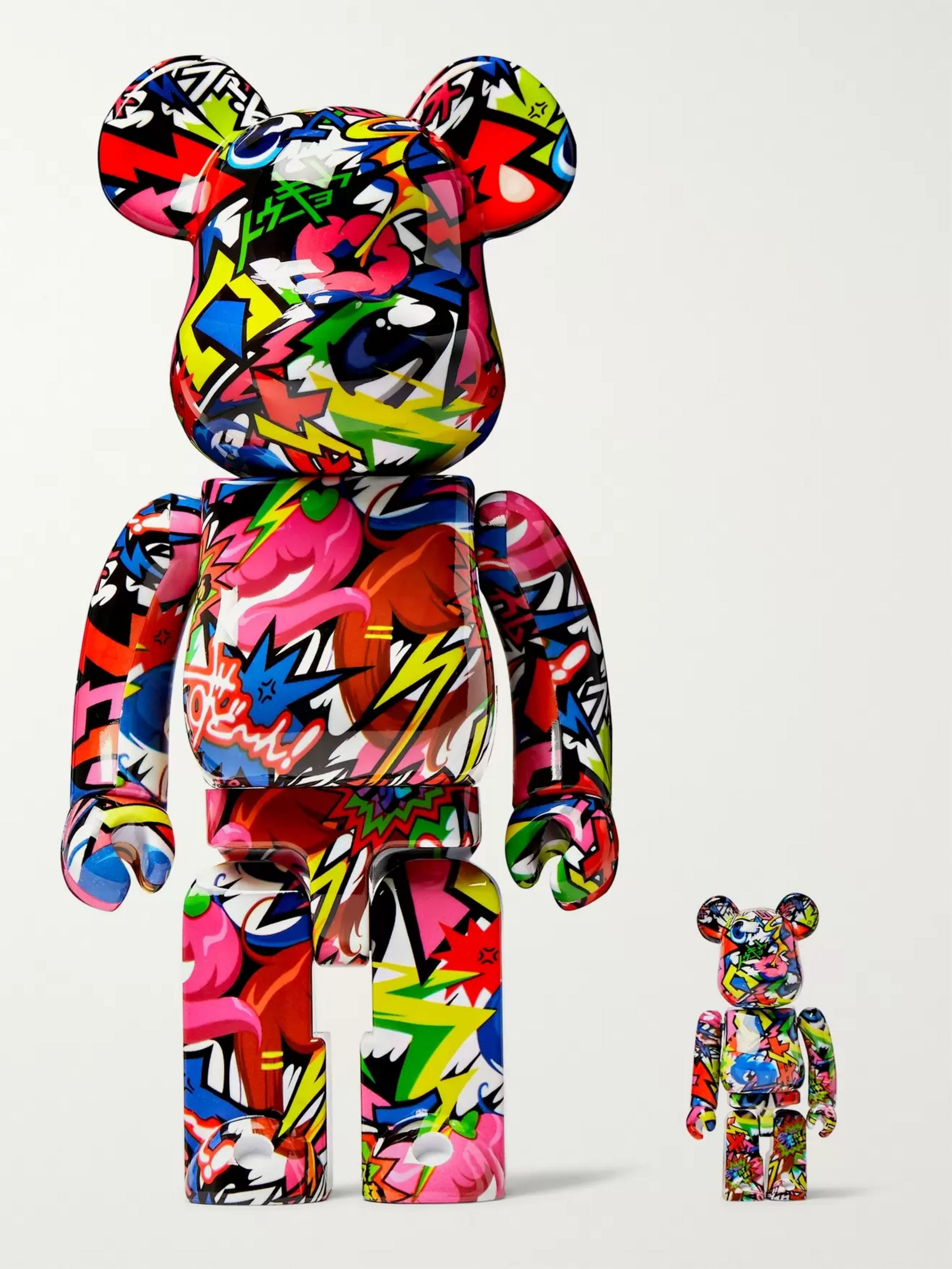 BE@RBRICK 100% + 400% Fantasista Utamaro Figurines Set