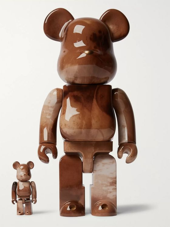 BE@RBRICK 100% + 400% Pushead Figurine Set