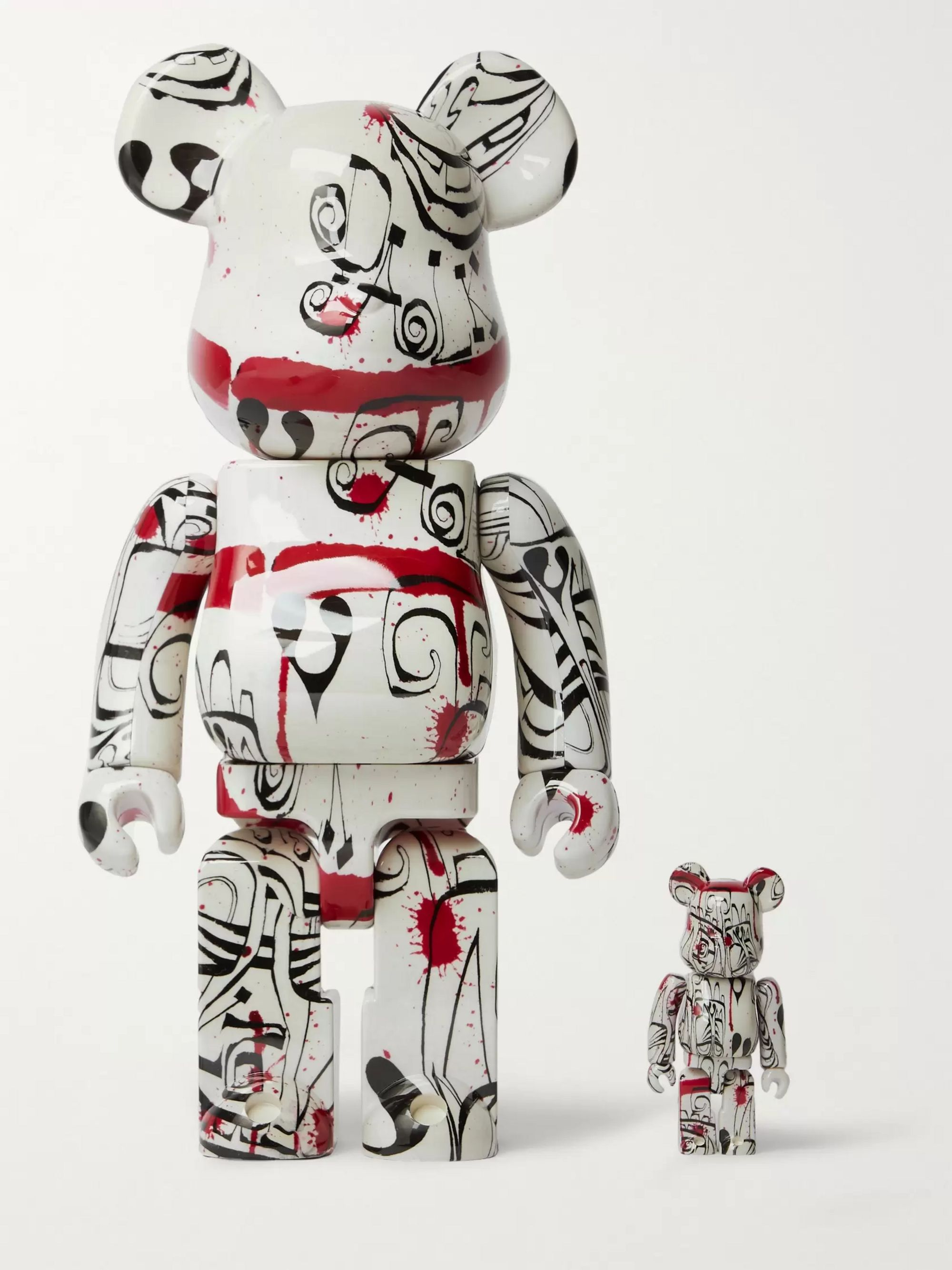 BE@RBRICK 100% + 400% + Phil Frost Figurine Set