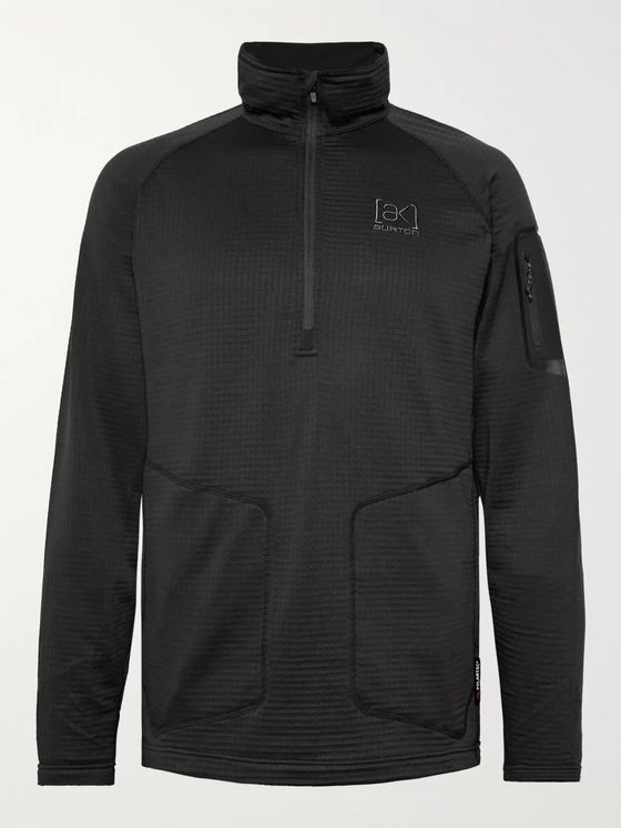 Burton [ak] Polartec Power Grid Fleece Half-Zip Base Layer