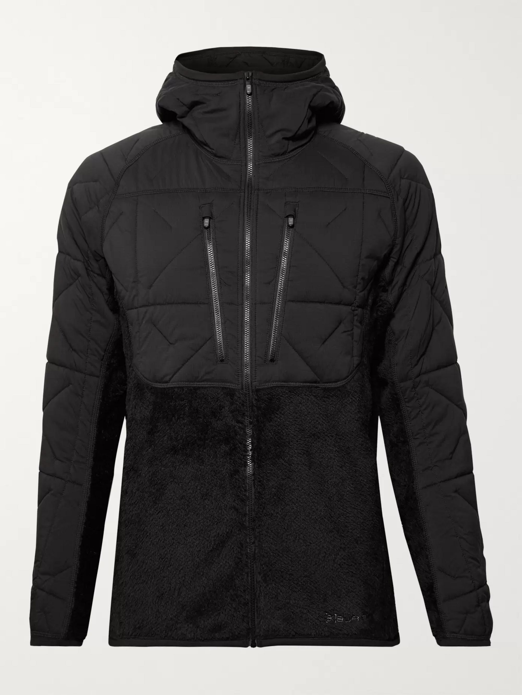 Burton [ak]® Cavu Hybrid Insulator Fleece and Quilted Hooded Ski Jacket