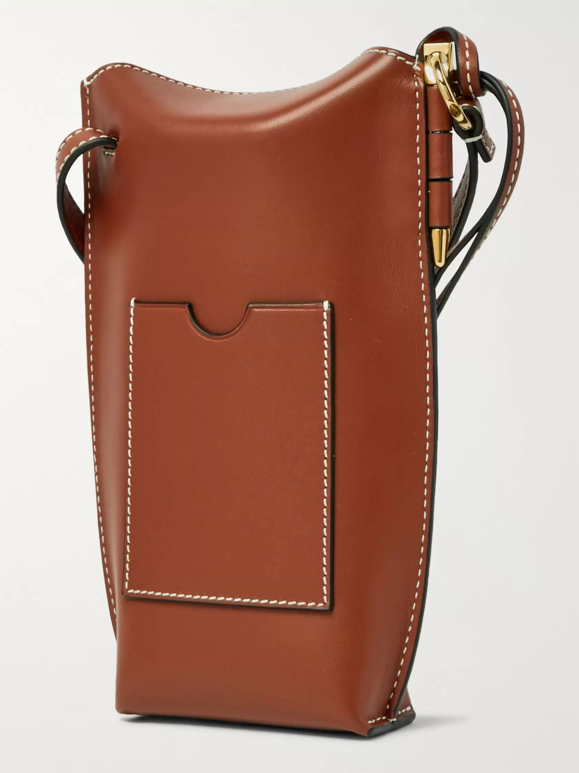 Loewe Gate Logo-Debossed Leather Bag