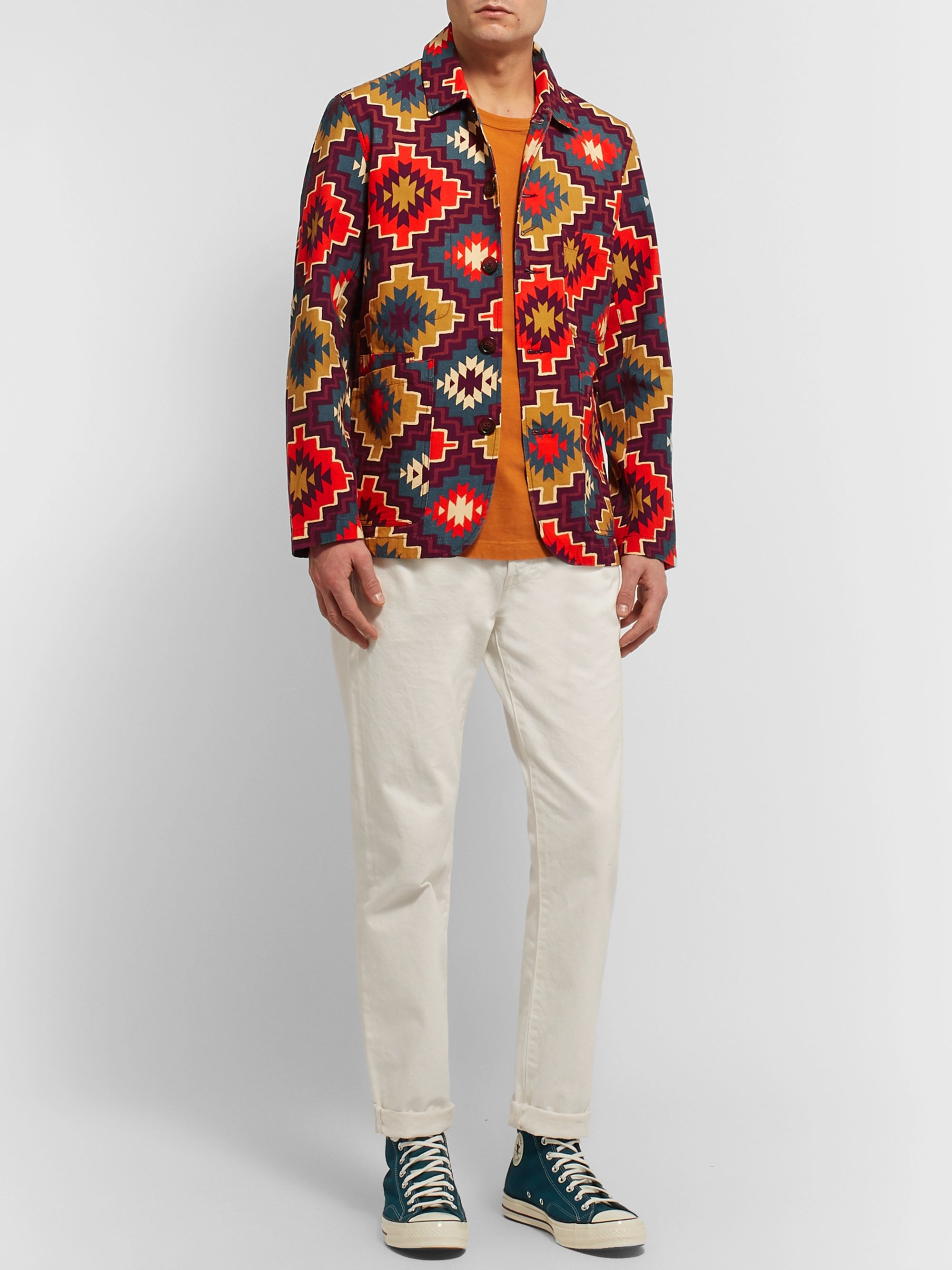 Universal Works Printed Cotton-Canvas Jacket