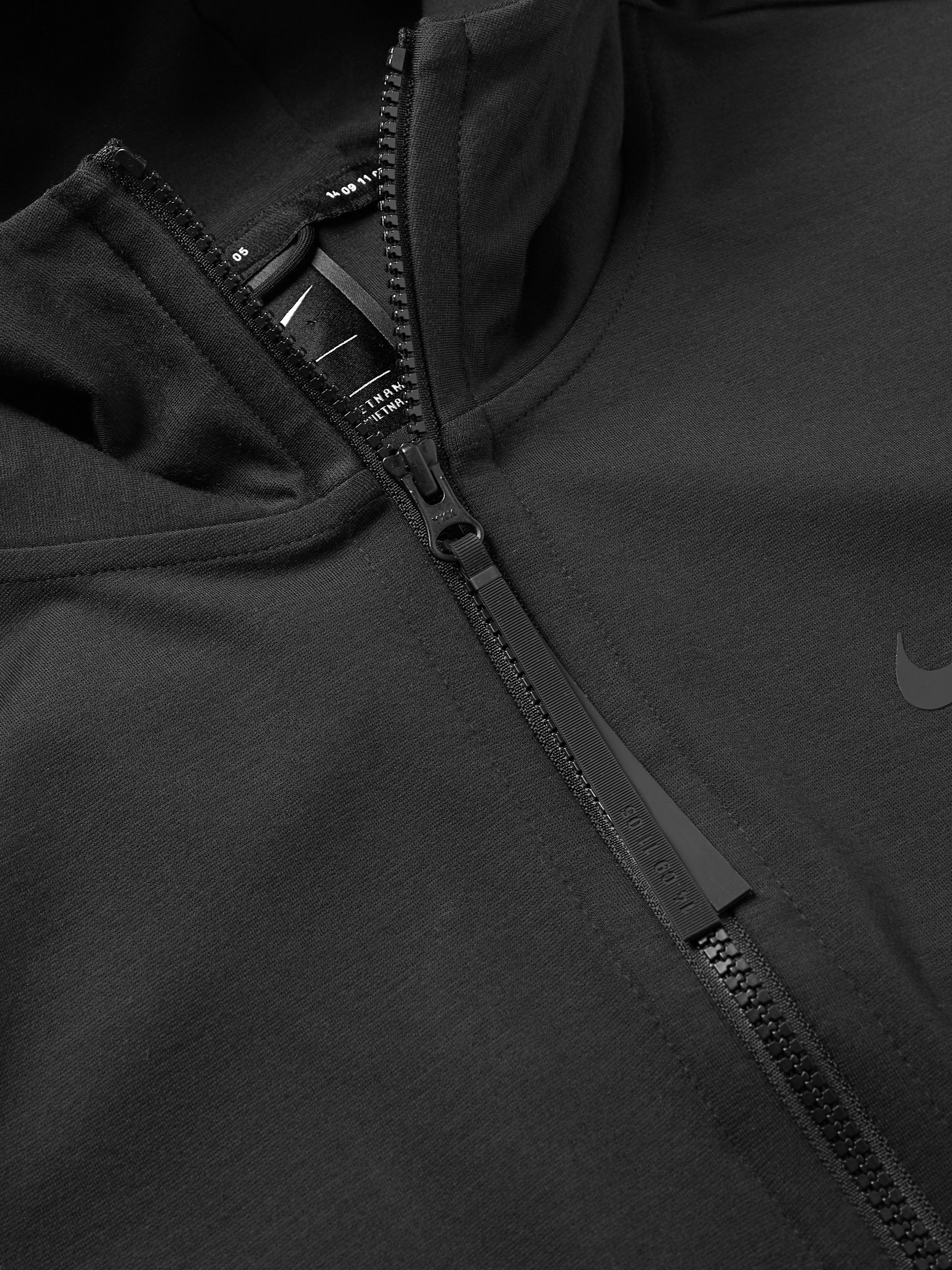 Nike Sportswear Tech Pack Stretch-Jersey Zip-Up Hoodie
