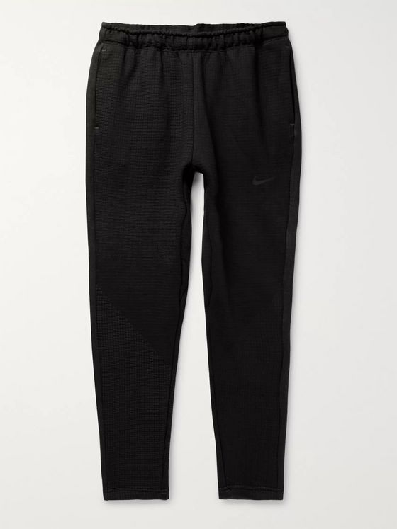 Nike Sportswear Tech Pack Slim-Fit Tapered Fleece Sweatpants