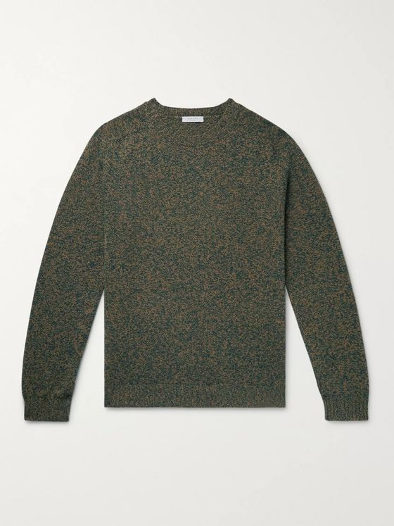 Boglioli Mélange Virgin Wool and Cashmere-Blend Sweater
