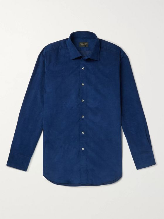 Emma Willis Slim-Fit Cotton-Corduroy Shirt