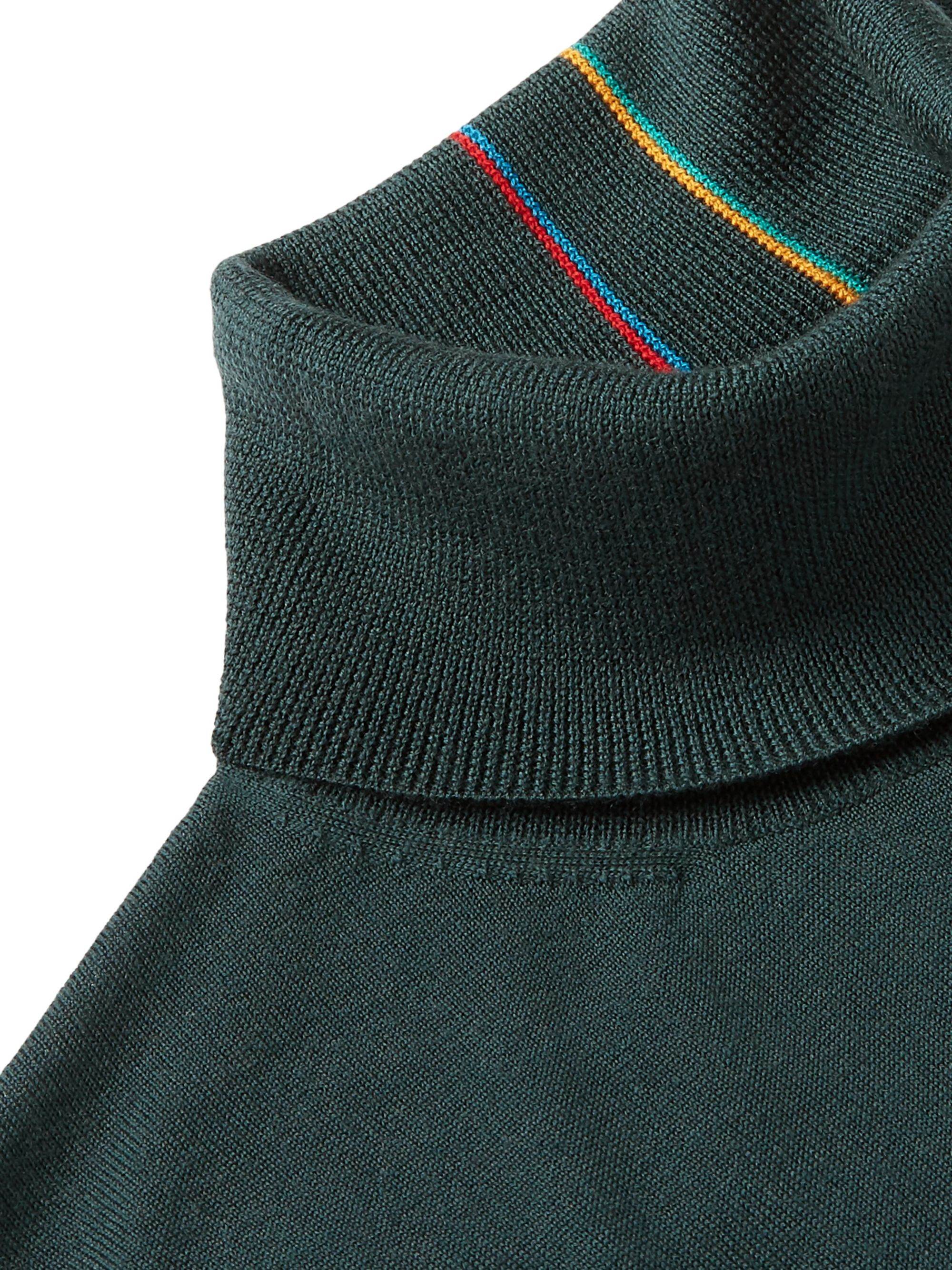 Paul Smith Merino Wool Rollneck Sweater