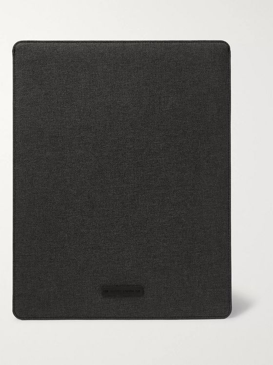 Native Union Stow Slim Coated-Canvas iPad Pro Sleeve