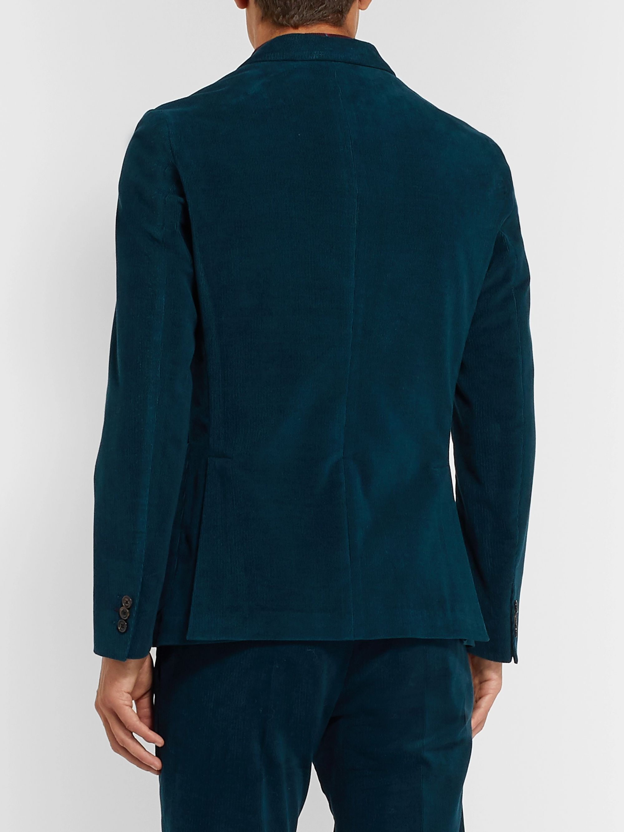 Paul Smith Cotton-Corduroy Suit Jacket