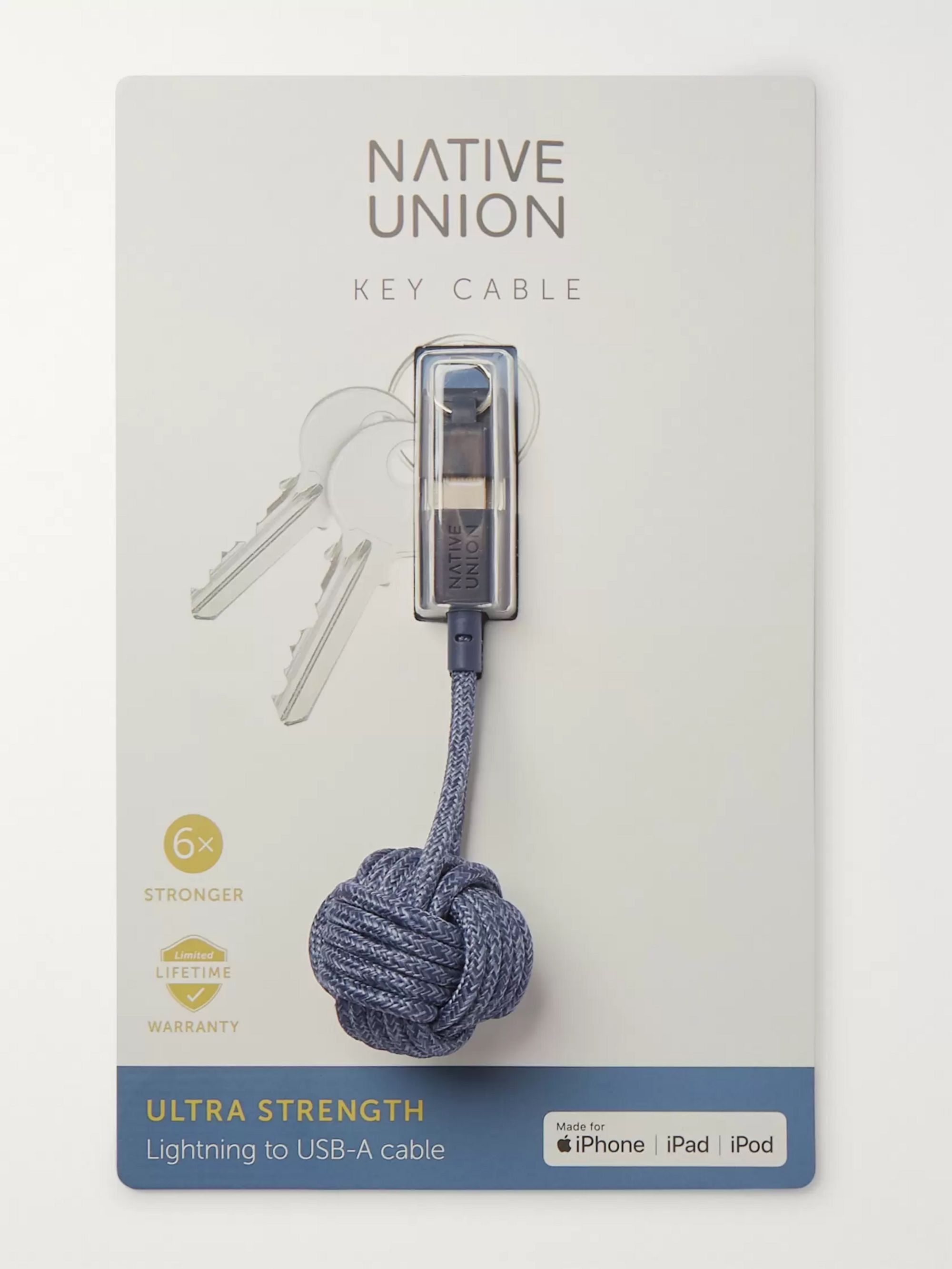 Native Union Knot Lightning Cable Key Fob