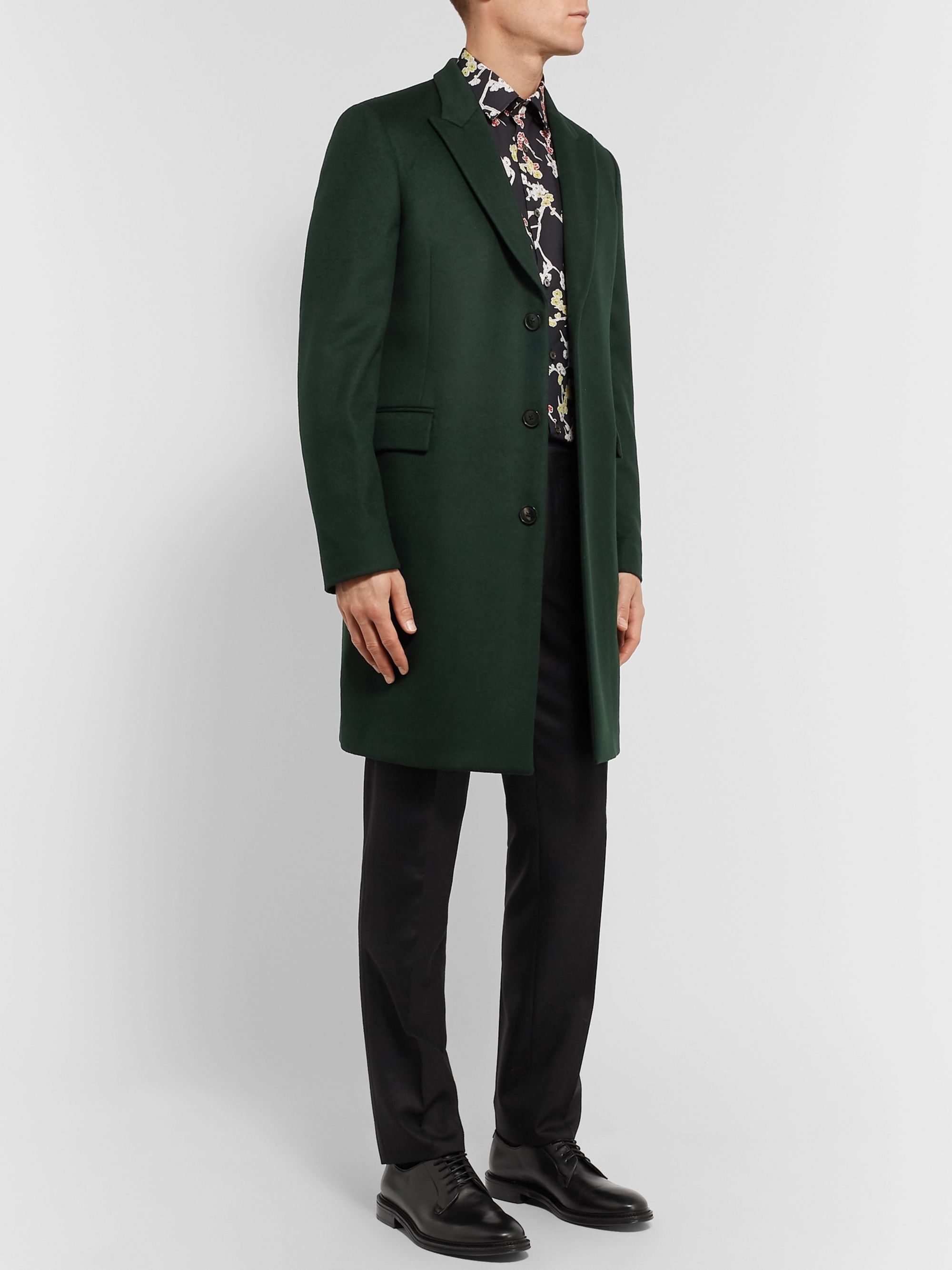Paul Smith Wool and Cashmere-Blend Overcoat