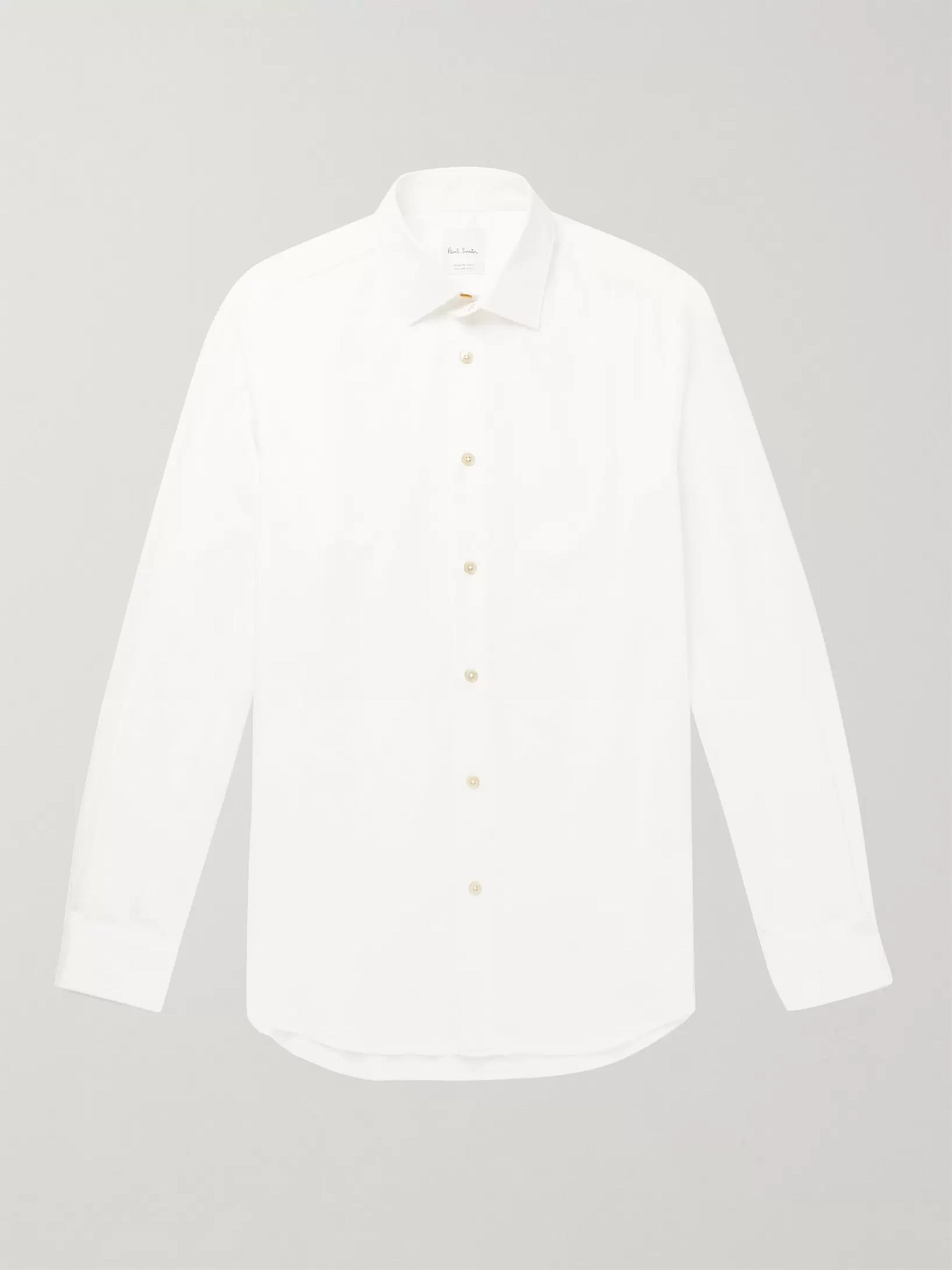 Slim Fit Cotton Corduroy Shirt by Paul Smith