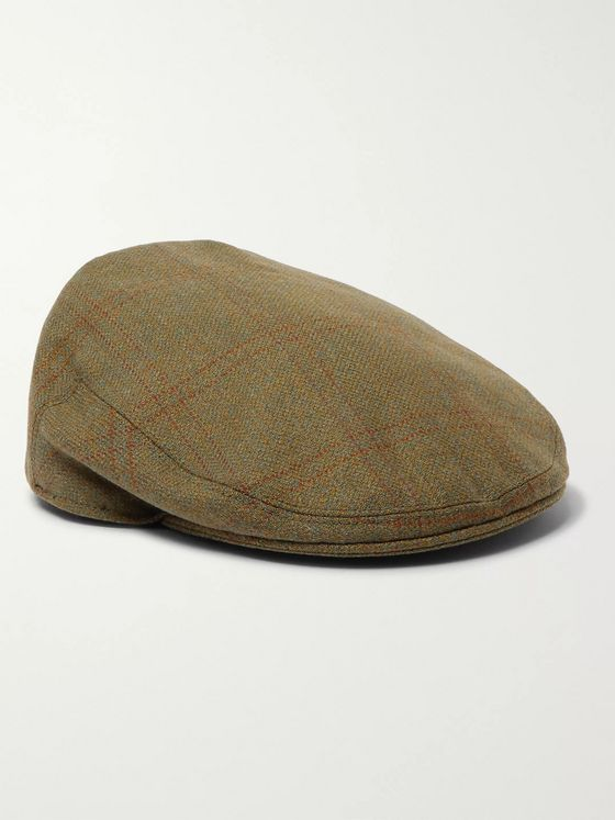 Purdey Wool-Tweed Flat Cap