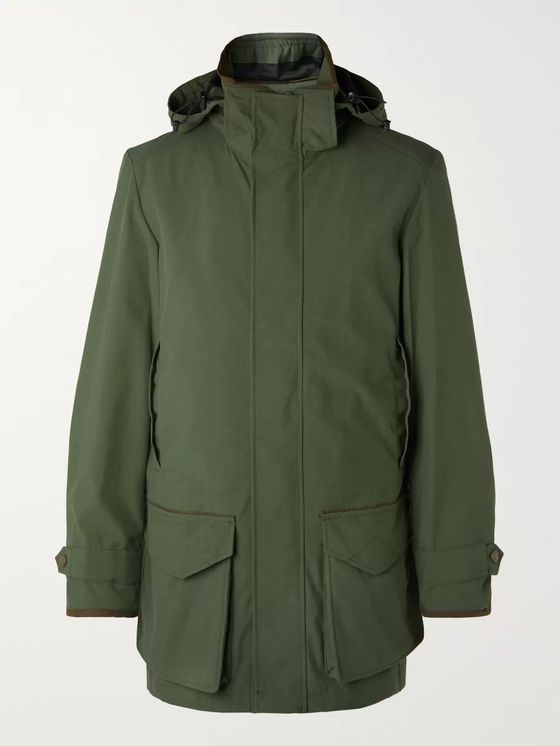 Purdey Snipe Shell Hooded Coat