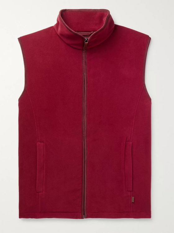 James Purdey & Sons Fleece Gilet