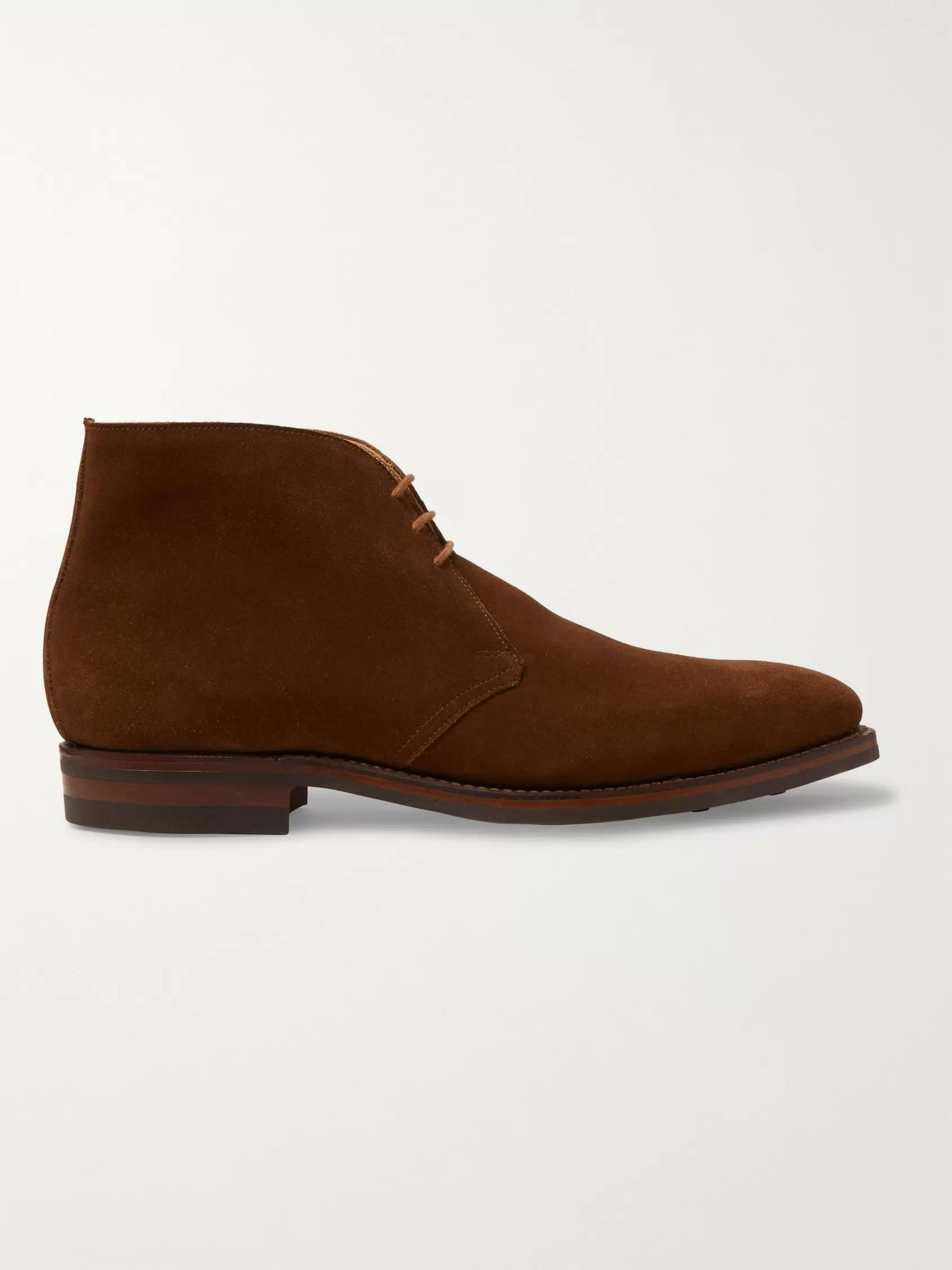 James Purdey & Sons Suede Chukka Boots