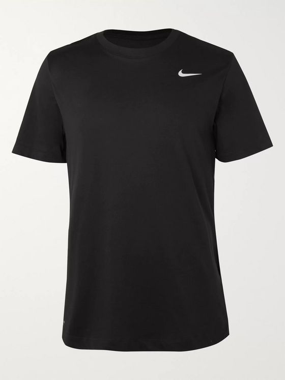 Nike Training Cotton-Blend Dri-FIT T-Shirt