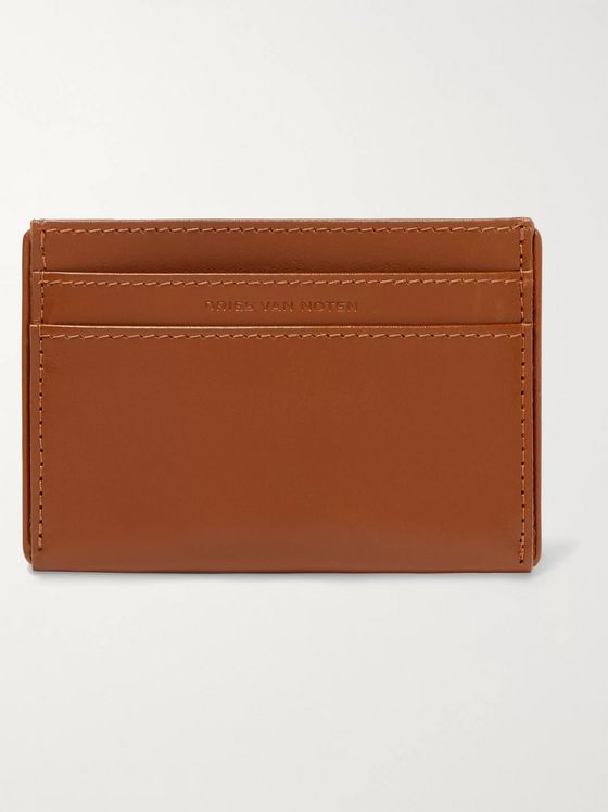 Dries Van Noten Leather Cardholder