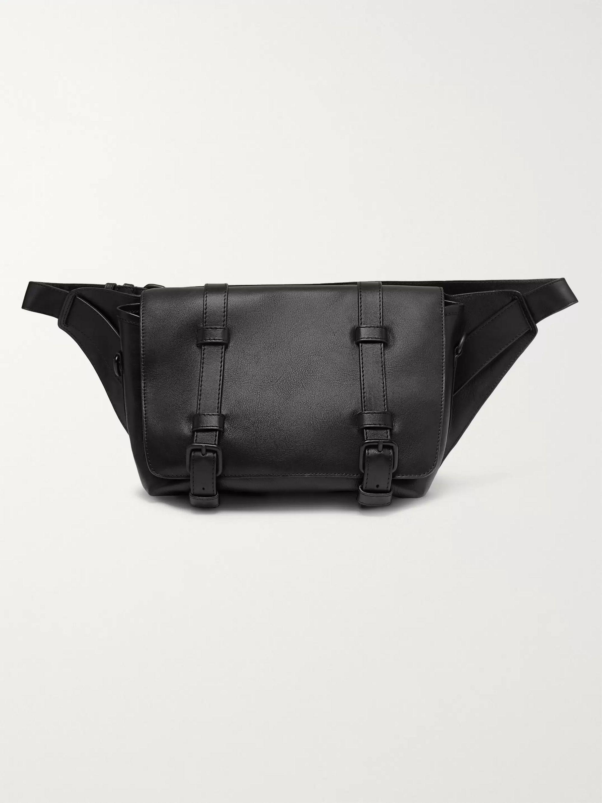 Black Leather Belt Bag | Dries Van Noten | MR PORTER