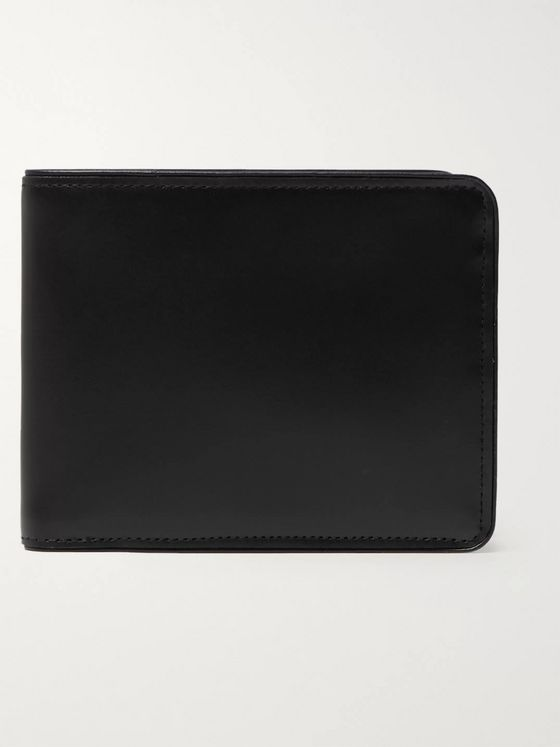 Dries Van Noten Leather Billfold Wallet