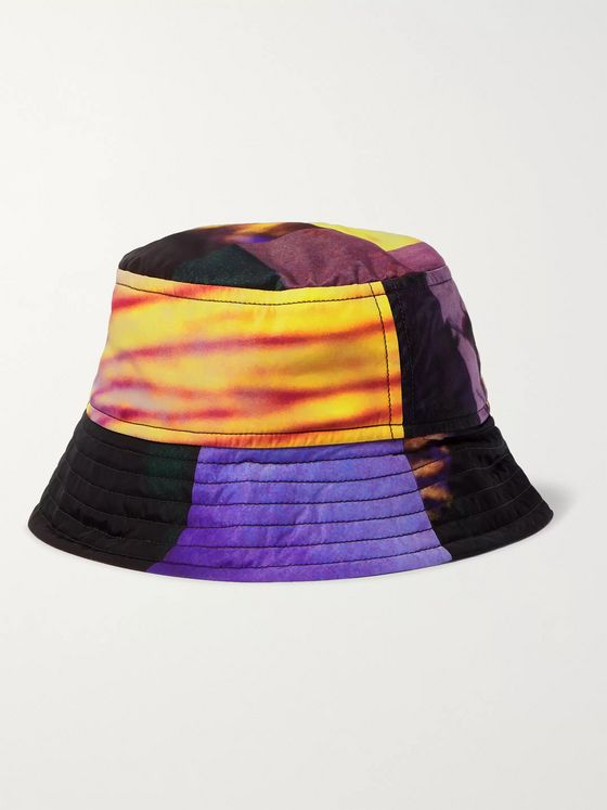 Dries Van Noten Printed Shell Bucket Hat