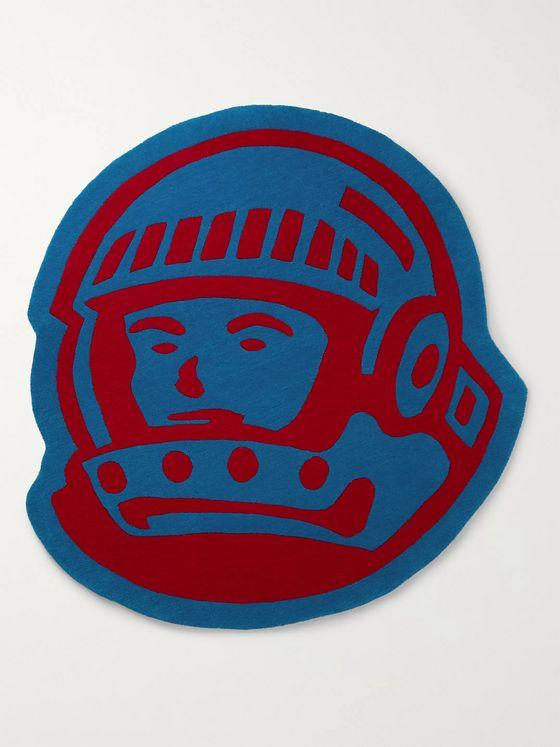 Billionaire Boys Club Panelled Tufted-Wool Rug