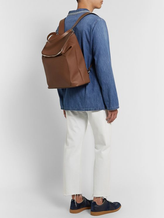 Loewe Goya Full-Grain Leather Backpack