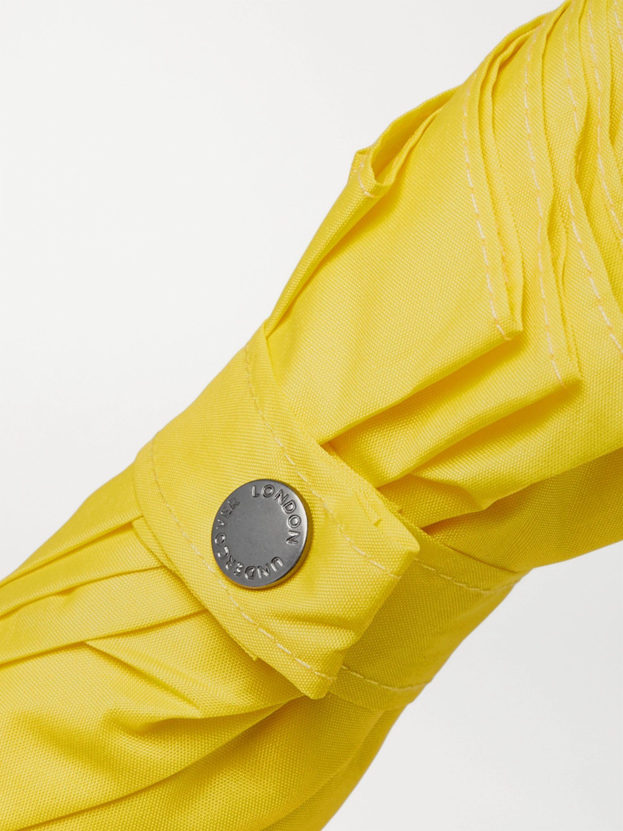Yellow Bamboo-handle Umbrella | London Undercover