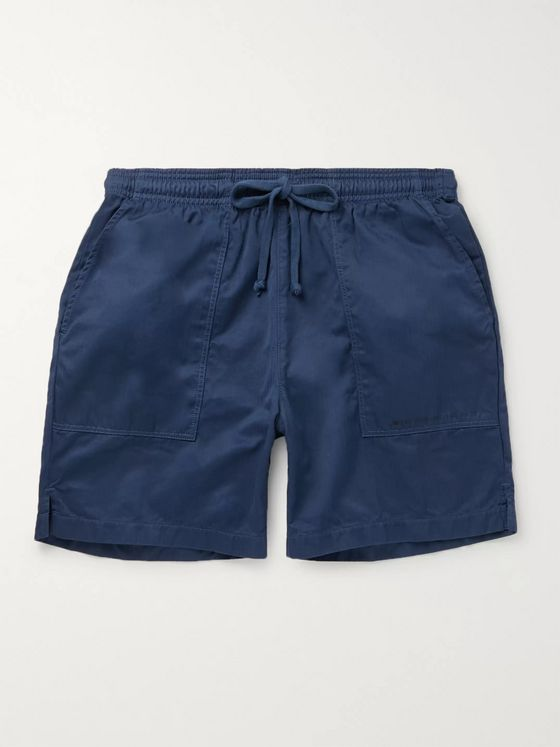 Save Khaki United + New Balance Slim-Fit Supima Cotton-Jersey Drawstring Shorts