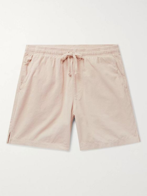 Save Khaki United Easy Slim-Fit Cotton-Corduroy Drawstring Shorts