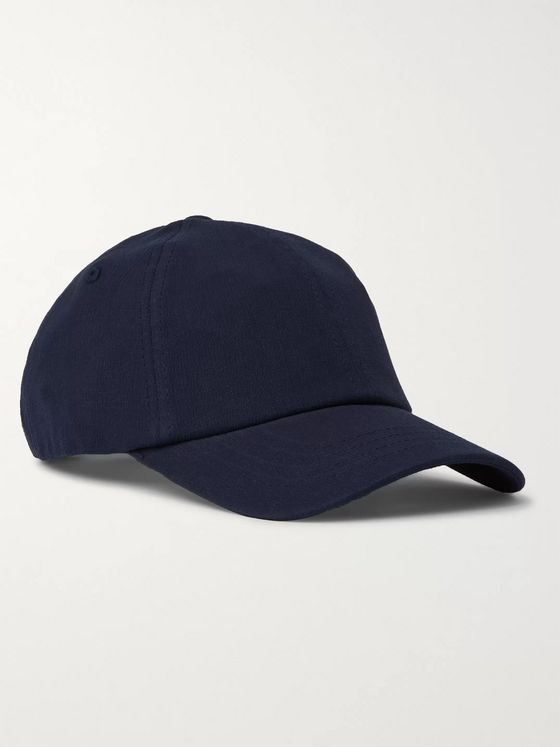 NN07 Cotton-Seersucker Baseball Cap