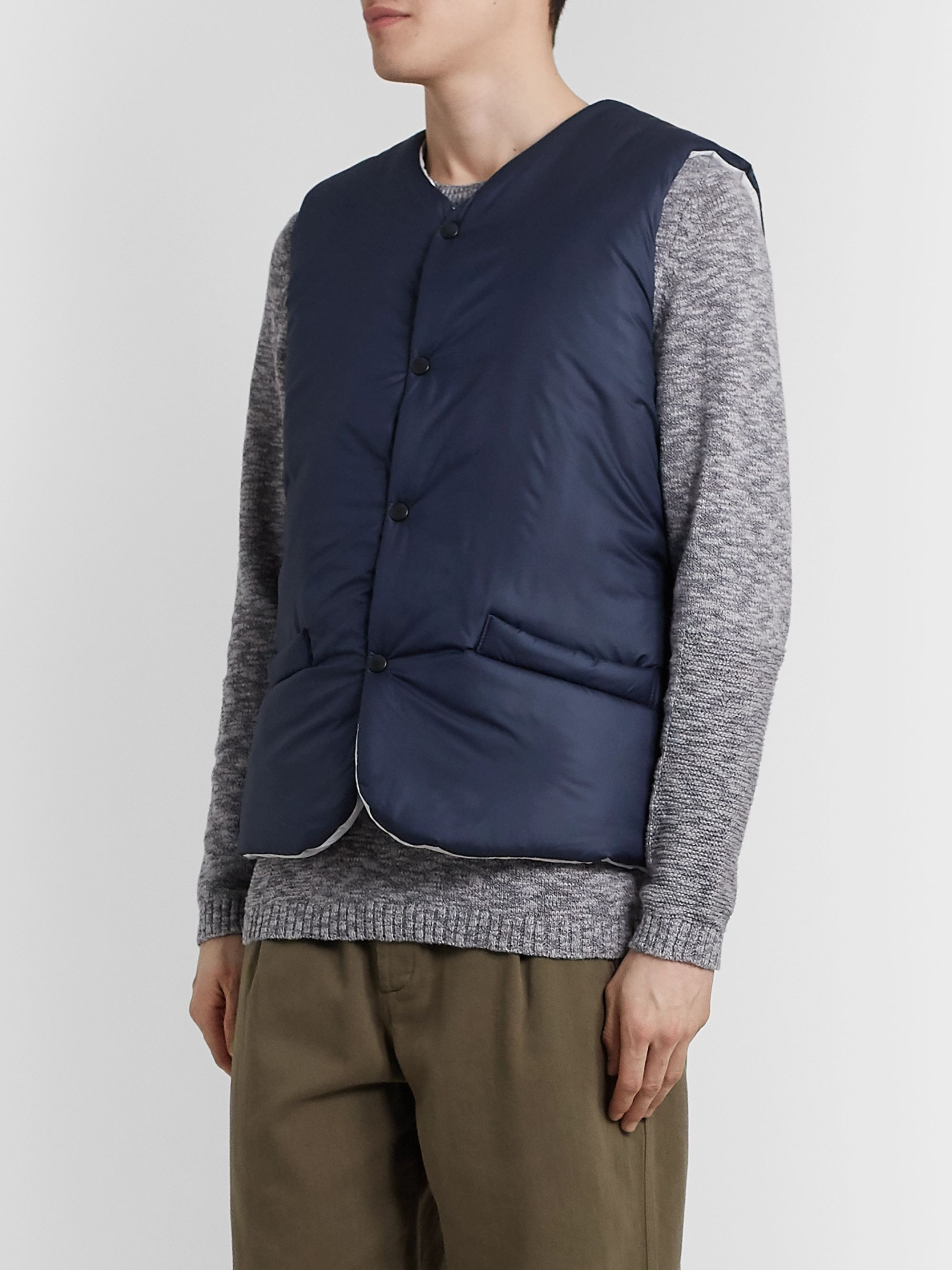 The Workers Club Padded Shell Gilet