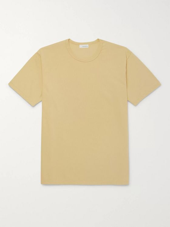 nanamica Ribbed Cotton and COOLMAX-Blend Jersey T-Shirt