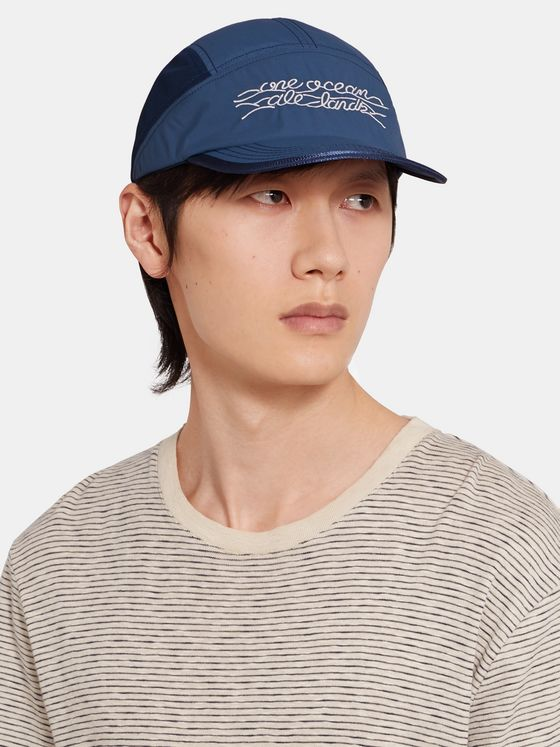 nanamica Embroidered Shell Baseball Cap