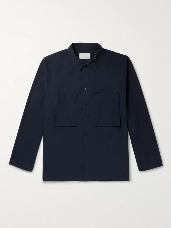 nanamica Organic Cotton-Blend Overshirt