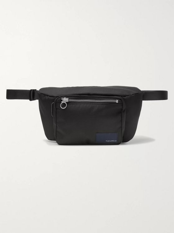 nanamica Logo-Appliquéd CORDURA Belt Bag