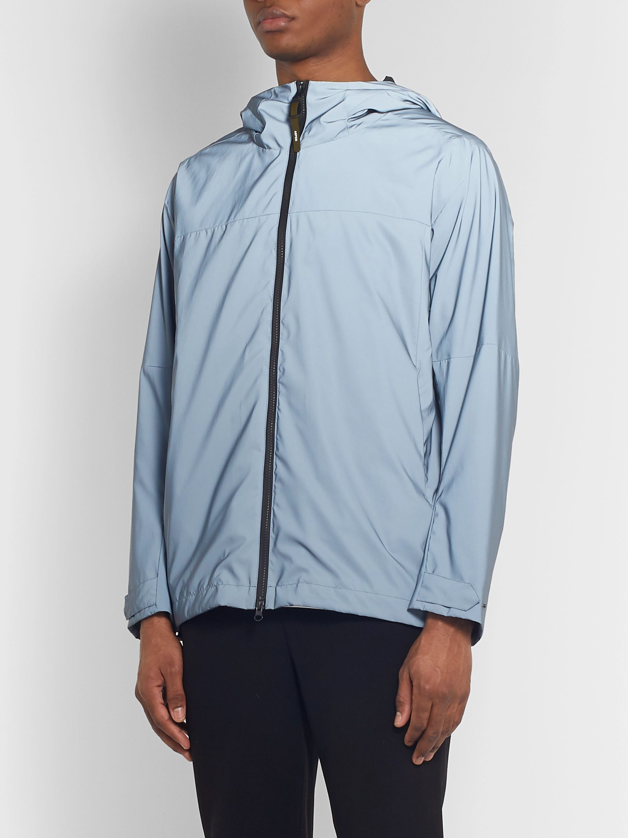 Aspesi Reflective Coated-Shell Jacket