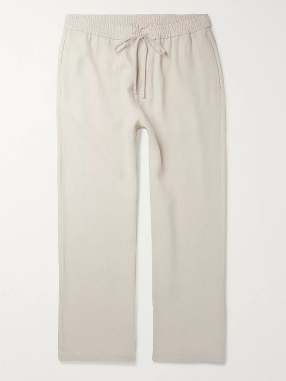 Barena Twill Drawstring Trousers