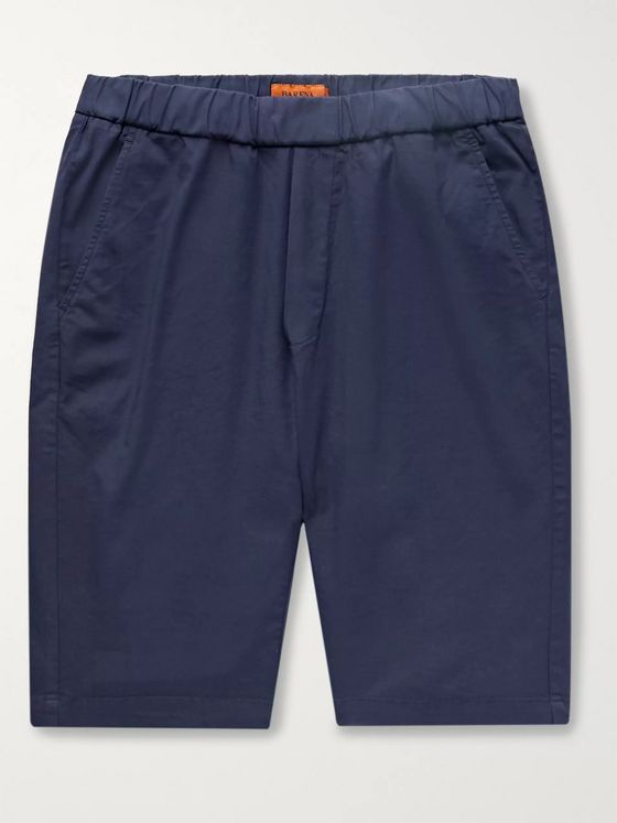 Barena Slim-Fit Cotton-Blend Shorts