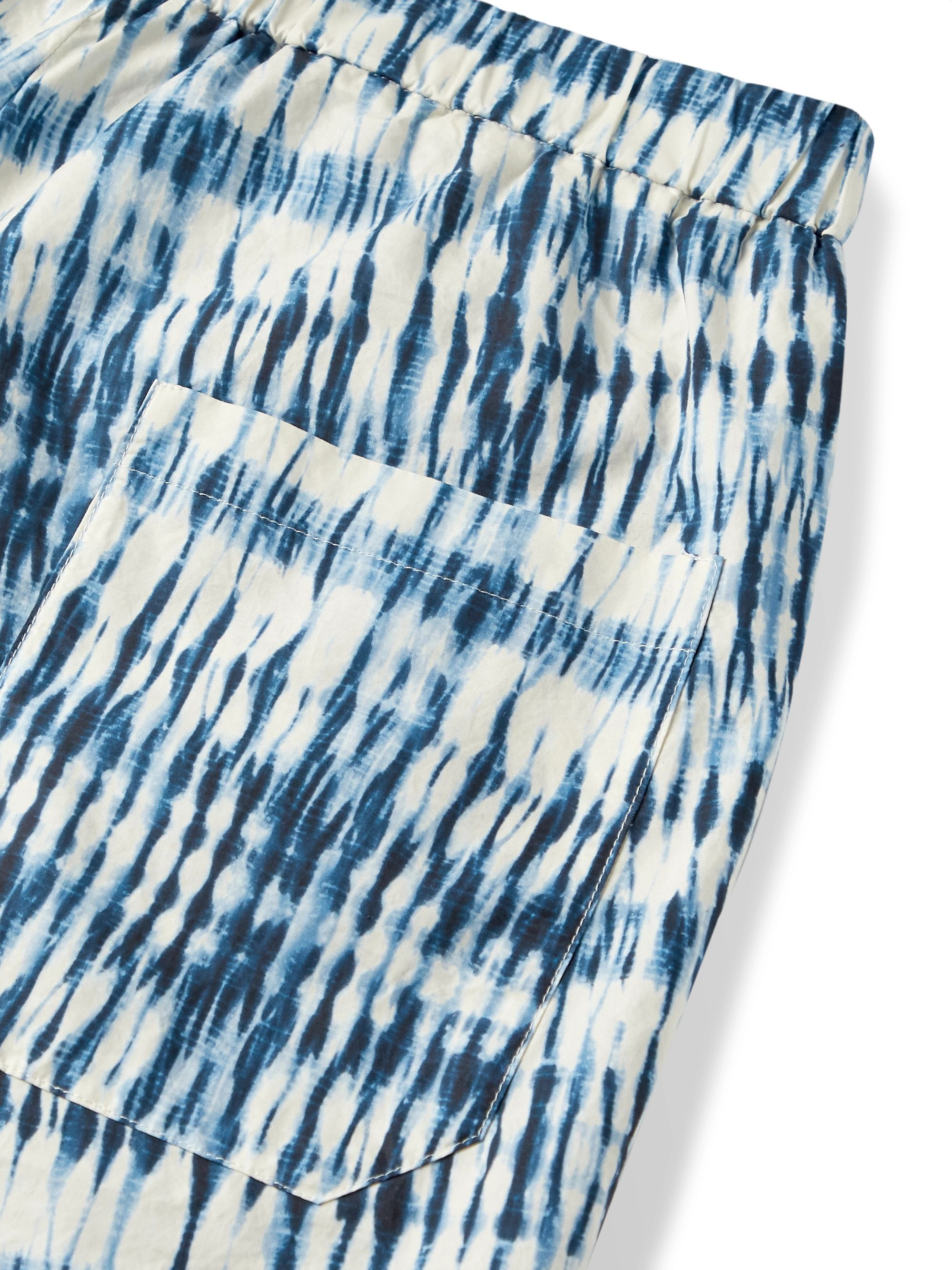 Barena Slim-Fit Tie-Dyed Cotton Shorts