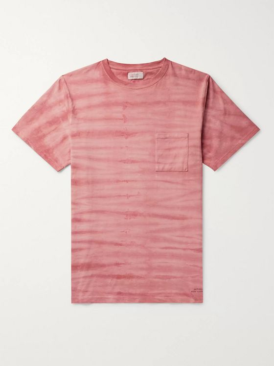 Saturdays NYC Randall Mineral-Washed Cotton-Jersey T-Shirt